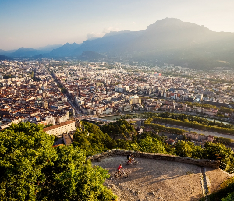 Grenoble, capital of the Alps